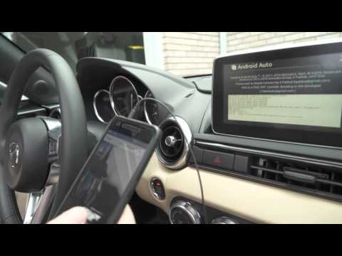 Mazdaconnect Android Auto 0 5 - YT