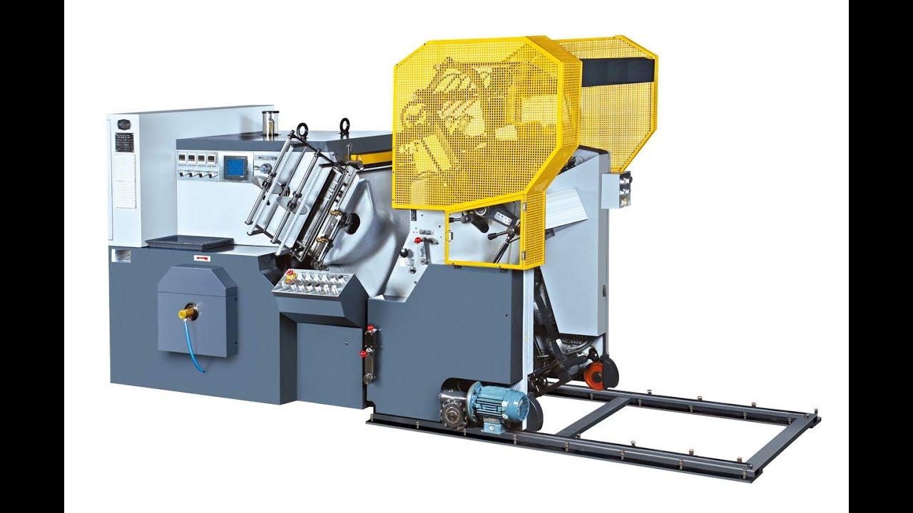 Fustellatrice automatica con stampa a caldo mod. M-780A ...