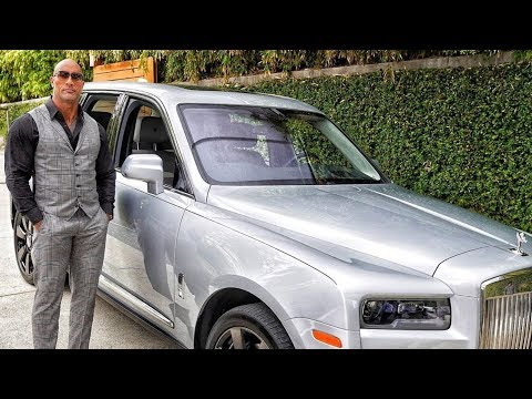 Dwayne Johnson (The Rock) New Car Collection 2019