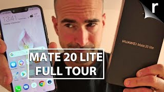 Huawei Mate 20 Lite Unboxing | Full phone tour!