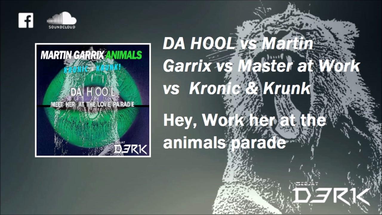 Meet her at the love parade vs Work vs Animals vs Hey ho ...