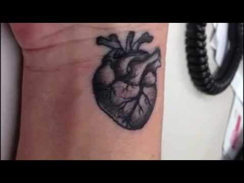 beating heart tattoo youtube