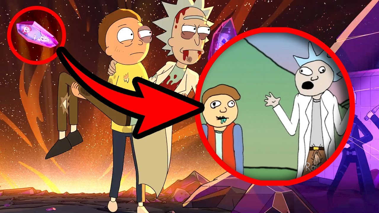 Rick y Morty Temporada 5 Trailer / Todos Los Detalles Que (Tal Vez) No Viste
