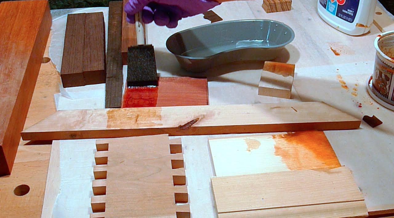 Старение древесины своими руками видео