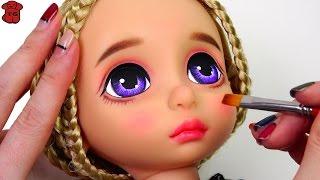 ★베이비돌 라푼젤 리페인팅!! ★Repainting Baby Doll/Rapunzel/Disney Animators