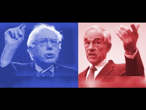 Ron Paul vs Bernie Sanders