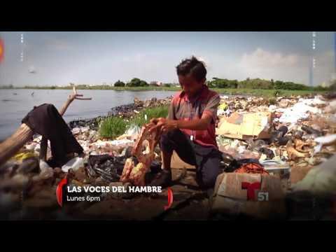 """Promo - """"Las Voces del Hambre"""" la nueva serie que estrenará Telemundo Miami"""