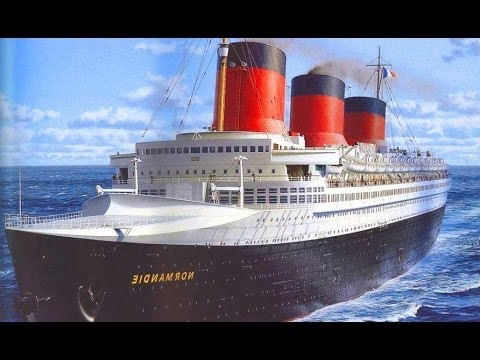 The Most Powerful Steam-Electric Ship Ever Built: The SS NORMANDIE (720p)
