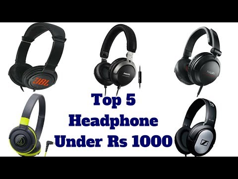 Top 5 Best Headphone Under Rs.1000 For 2018 | Best Over The Ear Headphones