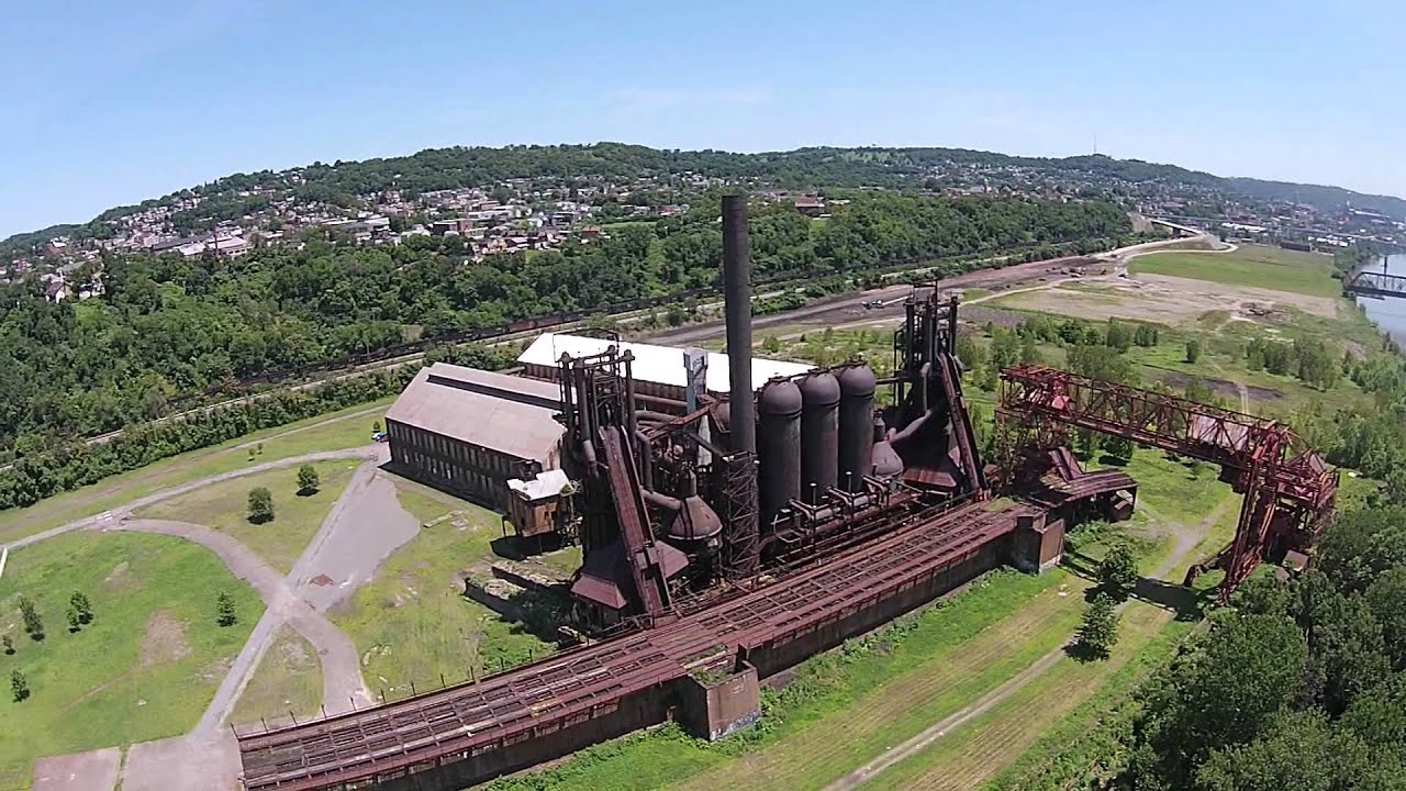 Carrie Blast Furnaces 6 & 7 - YouTube