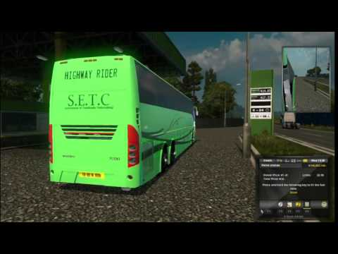 Eurotruck Simulator 2 Volvo 9700 Indian Skin SETC & more