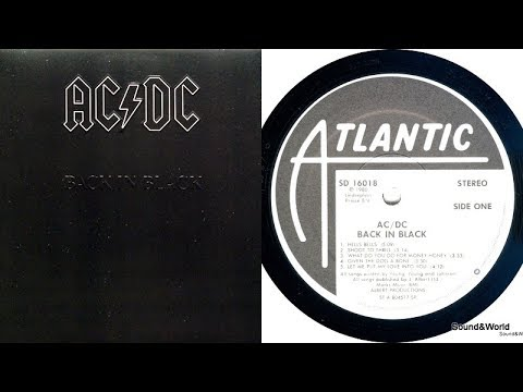 AC/DC – Back In Black (Vinyl, LP, Album) 1980.