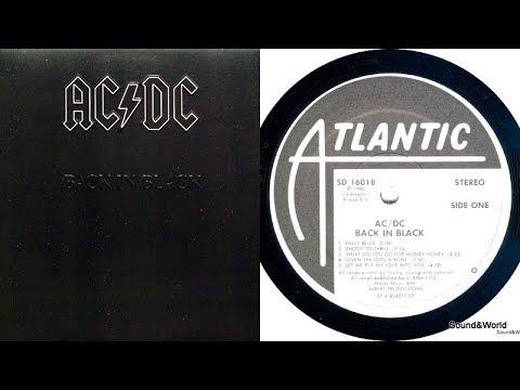 AC/DC – Back In Black (Vinyl, LP, Album) 1980.