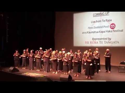 Taranaki ki te Tonga - Kaumātua Kapa Haka Celebrations - Te Papa 5 July 2015