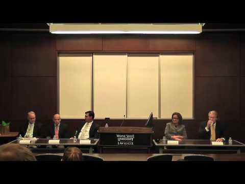 Wayne Law Alumni Speaker Series: Law in the Health Industry (11-19-15)