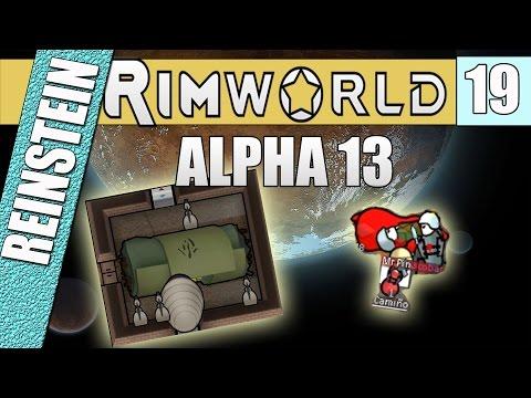 CAN I FREEZE 'EM? - RIMWORLD ALPHA 13 - Ep 19 - Lets Play