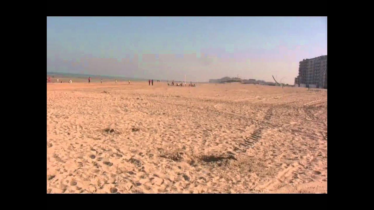Le Panne Beach Belgium 27th September 2011 Youtube