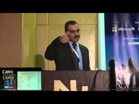 """""""Cyber Intelligence in the Age of Big Data prism""""  By Dr Adel Abdel Moneim """"CSCAMP14"""""""