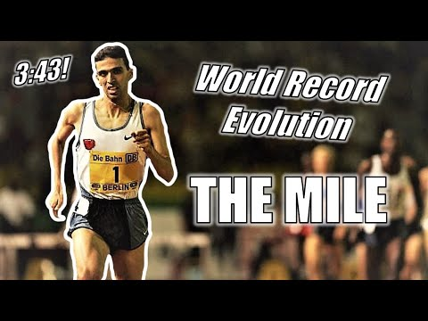 THE WORLD RECORD HISTORY OF THE MILE! || The Progression to 3:43!!