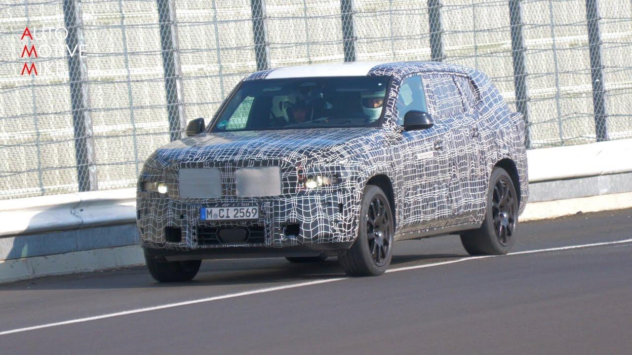 Download 2023 BMW X8 (XM) SPIED TESTING AT THE NÜRBURGRING
