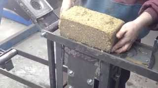 видео Линия для производства топливных брикетов Pini-kay