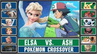 Frozen 2 Special: ASH vs. ELSA (Pokémon Sun/Moon) - Frozen/Pokémon Crossover
