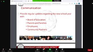 PUSD Special Board Meeting on 07-01-20