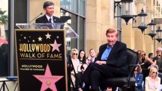 Sumner Redstone comments on Hollywood Walk of Fame star