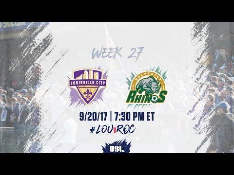 USL LIVE - Louisville City FC vs Rochester Rhinos 9/20/17