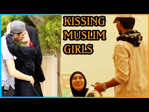 KISSING MUSLIM GIRLS Experiment (Response to PRANK INVASION)