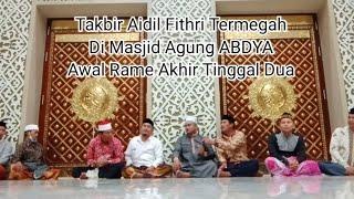 Download Mp3 Perdana...! Takbir Hari Raya Di Masjid Agung Aceh Abdya
