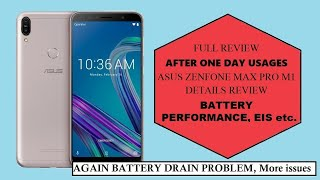 Asus Zenfone Max Pro M1 15th November update review after one day usages|New issues|Battery issues|