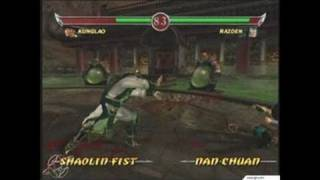 Mortal Kombat: Deadly Alliance Xbox Gameplay_2002_08_06_1
