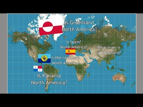 Where is North America?