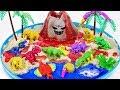 Dino Mecard Dinosaur Toys DIY Volcano Eruptiont | Jurassic World