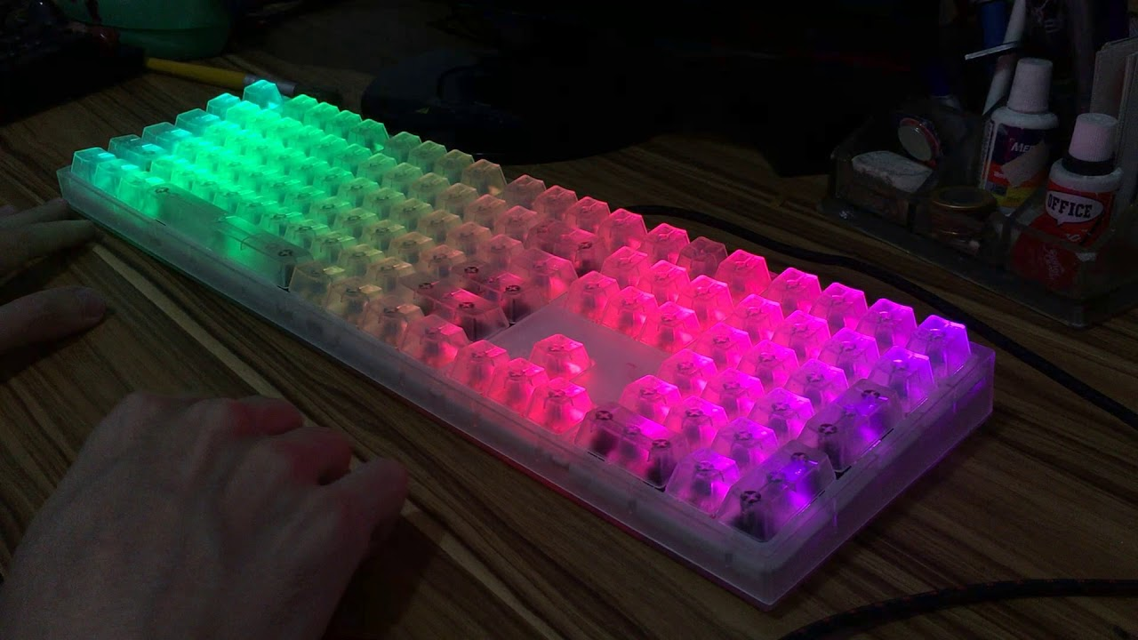 9091bfec293 📦🔎 Unboxing: Masterkeys Pro L Crystal Edition (BR) - YouTube
