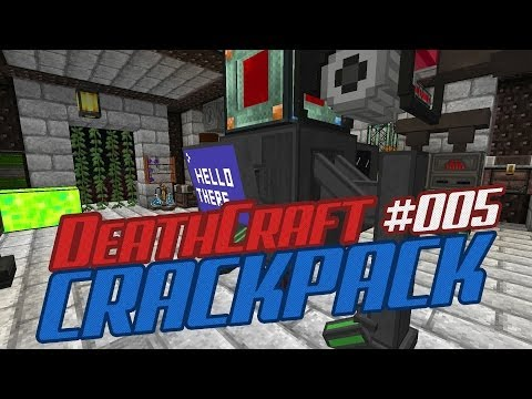 Deathcraft Crackpack - Mekanism Digital Miner and Hydrogen Generator - 005