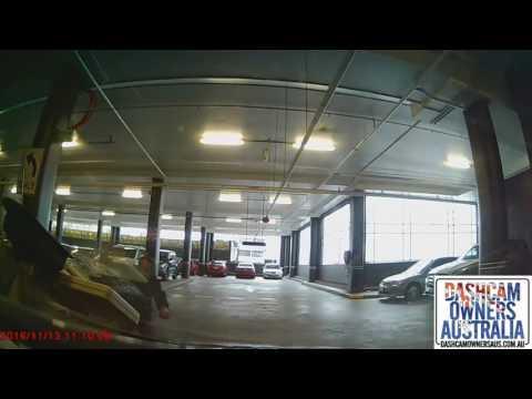 Carpark Karma for aggro pedestrian