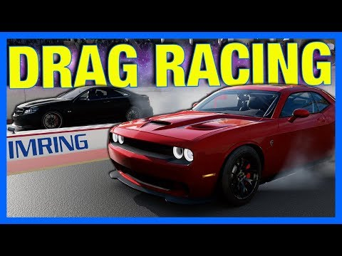 Forza Motorsport 7 : DRAG RACING GAMEPLAY!! (New Drag Strip)