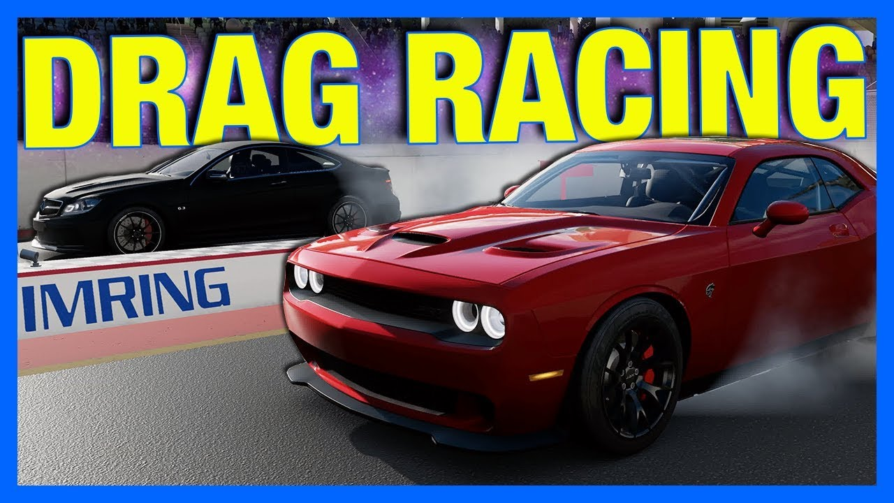 Forza Motorsport 7 Drag Racing Gameplay New Drag Strip Youtube