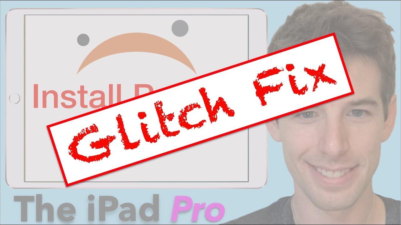 Glitch Fix- Install Python