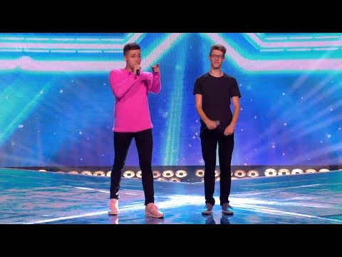 Jack & Joel: Simon Stopped Them, But After They Totally NAILED IT! The X Factor UK 2017
