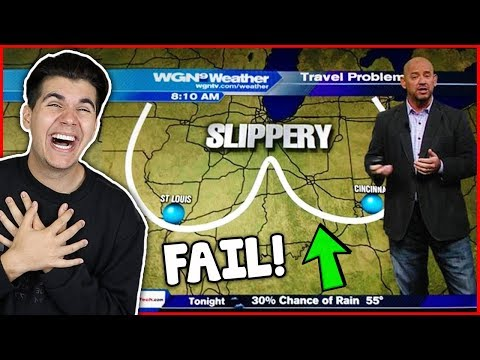 Thumbnail: Funniest News Bloopers Ever! (Hilarious Fails)
