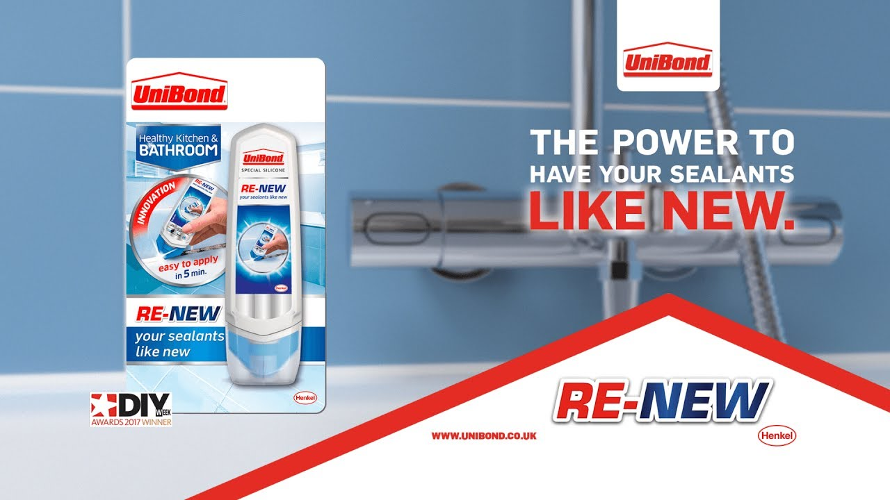 Kitchen And Bathroom Sealant - How to use unibond sealant re new