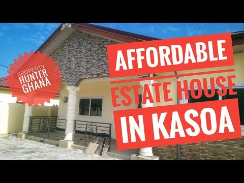 AFFORDABLE 3 BEDROOM ESTATE HOUSE IN KASOA GHANA FOR SALE