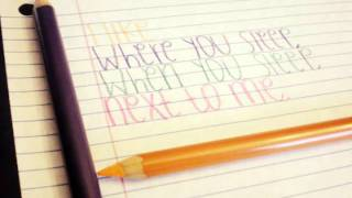 Here (In Your Arms) by Hellogoodbye [LYRICS]