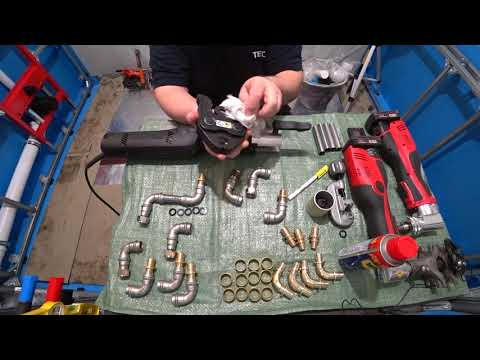 Нержавеющие пресс-системы Viega Sanpress Inox , подготовка труб/фитингов к монтажу систем ХВС/ГВС/ЦО
