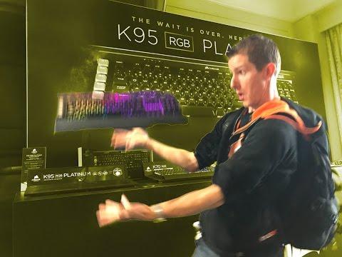The Corsair K95 Platinum Drops