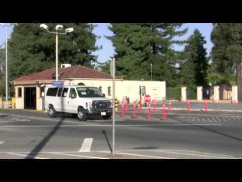 President Obama motorcade 23 May 2012 Moffett Field, Mountain View California