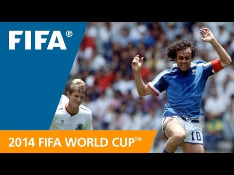 Michel Platini for France - #72 Days to FWC Brazil 2014